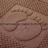 호화스러운 고품질 100%년 면 호텔 자카드 직물 지면 목욕탕 발닦는 매트