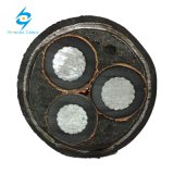 3 de Onderzochte Kabel van het Koper Al/Sc/XLPE/Sc/Cut/PVC van de kern 8.7/15kv Band