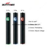 Ocitytimes S3 wärmen elektronische Zigaretten-Batterie Cbd Batterie vor