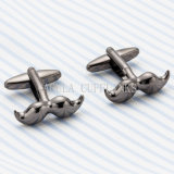 VAGULA Wedding Gift Cuff Links Funny Mustache Cufflinks 691