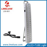 Luz Emergency solar casera del tubo de la carga LED