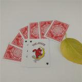 Cartes de jeu noires allemandes de tisonnier de casino de papier de faisceau