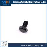 Revêtement noir fait sur mesure d'E-Carbon-Steel Fixation à vis à tête hexagonale