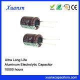 10000hours 350V de Elektrolytische Condensator met lange levensuur van het 1.5UFAluminium