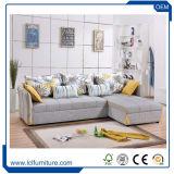 Disegno di lusso del cuoio della fabbrica delle forniture di ufficio il nuovo molto a buon mercato ha limitato il sofà di cuoio per la base di sofà di promozione