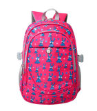 Cheap Lovely Girls Polyester Student Children Printed School Bag Backpack