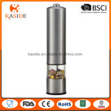 Battery Operate Stainless Steel Salt and Pepper Millet with Function Light