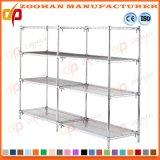 Регулируемый шкаф ящиков устроителя хранения Shelving провода крома металла (Zhw105)