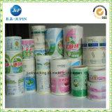 Etiqueta orgânica da etiqueta confidencial dos cosméticos da composição (jp-s168)