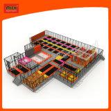Terrain de jeux dans Hot Sale grand Amusement Park Super Trampoline pour la vente