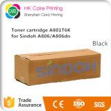 cartucho de toner estándar del negro de la producción de 6k A801t6k para Sindoh A806 A806dn