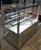 1500mm de comprimento e visor de bolo Frigorífico com porta de vidro corrediço