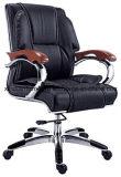 일 직원 고품질 가죽을%s 가진 관리 사무실 의자는 직면했다