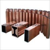 ASTM B75 melhor a ductilidade cobre tubo do molde para o CCM