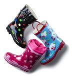 Verschiedenes Drucken-Gummiregen-Schuhe, Gummischuhe, Regen-Schuhe