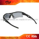 Modificado para requisitos particulares 2018 gafas de sol polarizadas Eyewear al aire libre del piloto del aviador del deporte UV400 con la lente permutable del espejo