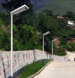 40W 옥외 태양 운동 측정기 LED 가로등