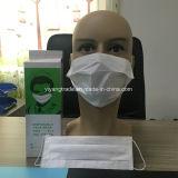 Maschera di protezione a gettare del documento delle due pieghe con il ciclo dell'orecchio