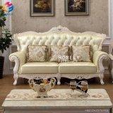 Sofa en cuir Hly-Sf51 de bonne qualité de noce d'unité centrale