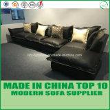 家具の居間のオフィスの革ソファーベッド