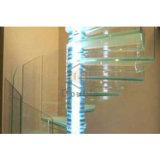Закаленное слоистое стекло под руководством лестница обмотки возбуждения