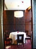 Hotel-Möbel-Wholesale runde Bankett-Tische Rounddining Tabelle 6 Stühle eingestelltes CT007