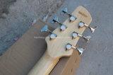 Гитара шнуров Hanhai 6 электрическая басовая с золотом/черным оборудованием