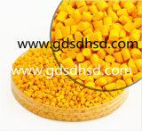 Llenador amarillo de Masterbatch del color del tratamiento por lotes principal