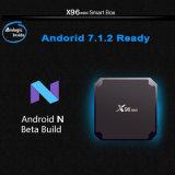 Коробка Kodi 17.3 коробки X96 TV интернета Gelbert Amlogic S905W Android миниая установленная верхняя