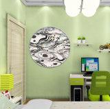 تجريديّ جدار فنية زخرفيّة نوع خيش فنّ أطباق