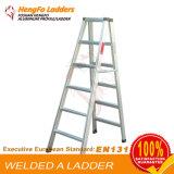 6 Ladder van het Profiel van de Legering van het Aluminium van het niveau de Economische van Fabriek