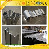 Profil en aluminium de nettoyage expulsé pour la centrale sans poussière