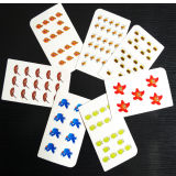 Educational Counting Paper Flash Cards Range