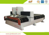 Router principal dobro resistente China do CNC da pedra
