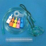 Usine prix bon marché de gros de haute qualité Multi-Vent réglable de l'hôpital masque à oxygène/oxygène masque Diluters Venturi avec 5