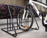 マルチ機能粉の上塗を施してある金属フレームのバイクラック