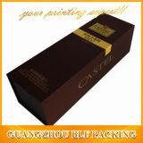 Schuss-Wein-Glaspapier-verpackengeschenk-Kasten