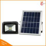 12LED太陽壁のGrden屋外ランプの暖かく白い太陽エネルギーの洪水ライト