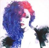 Abstrakte menschliche Abbildung Öl-Kunst-Farbanstrich für Wohnzimmer
