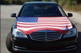 Materiale fresco/nuovo reso a bandierine standard dell'automobile dell'en con forte Palo può essere finestra di automobile personalizzata della squadra di sport