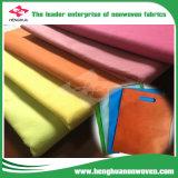 TNT No Tejido de tela para la Bolsa de compras con varios colores