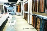 2016 100% полиэстер коричневых и золотистых вертикальные полосы диван ткань