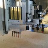El grabado de corte CNC Router eléctrico de la máquina con motor de husillo de la ATC