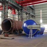 3000X12000mm PED-anerkannter voller Automatisierungs-Zusammensetzung-Autoklav für das Aushärten der Luftraum-Teile