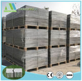 Resistente al agua Zjt decoración fácil EPS de paneles sándwich de cemento para la pared interior