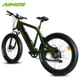 La aleación de aluminio Motor sin escobillas de 350W rueda ancha Bicicleta eléctrica