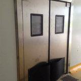 Abertura e Fechamento de folha simples/dupla porta de tráfego de impacto da porta a porta de aço inoxidável
