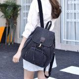 Schoolbag Backpacks холстины женщин для рюкзака перемещения девушок подростков (WDL0937)