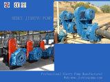 원심 슬러리 펌프 쪼개지는 케이싱 단단 무기물 가공 펌프