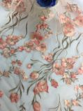 2017新しい方法花の刺繍の網のレースファブリック